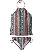 Billabong Kids - Hippy Ditsy Tankini Set (Little Kids/Big Kids)