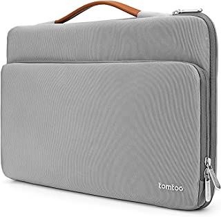 tomtoc 360 Protective Laptop Carrying Case for 15 Inch Old MacBook Pro Retina, Dell XPS 15, Microsoft Surface Book 2, The New Razer Blade 15, with Organized Pocket for Accessories