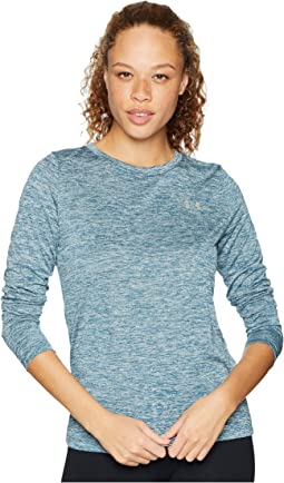 UA Tech Twist Crew Long Sleeve Shirt