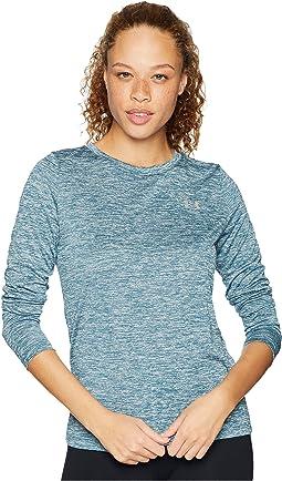 UA Tech Twist Crew Long Sleeve Shirt