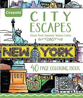 Adult Coloring, City Escapes Coloring Books