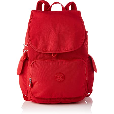 Kipling Damen City Pack Rucksack Handtasche, Rot Rouge, One Size
