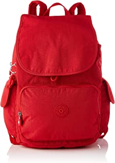 City Pack, Mochilas de a diario para Mujer, Rojo Rouge, One Size