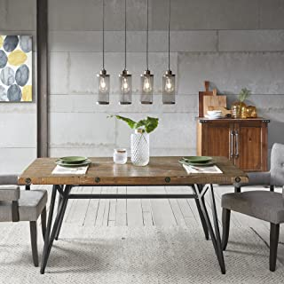 Best reclaimed plank dining table Reviews