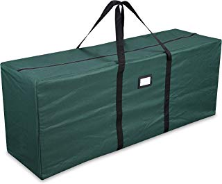 """Primode Holiday Tree Storage Bag, Heavy Duty Storage Container, 20"""" Height X 15"""" Wide X 50"""" Long (Green)"""