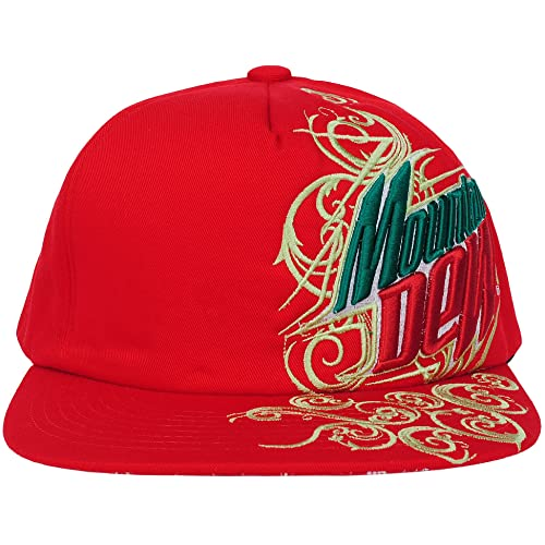 2f6ba77450a Mountain Dew Embroidered Men s Adjustable Snapback Hat