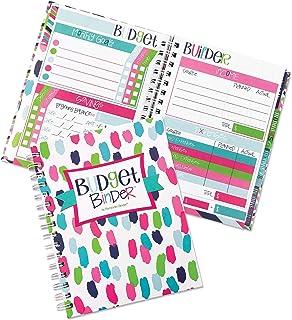 $24 » 12-Month Budget Planner Bill Tracker Organizer w/Calendar & Pockets for Financial Management 354 Stickers | Budget Binder
