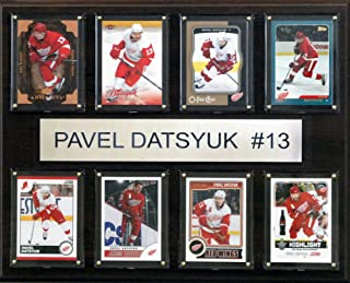 NHL Detroit Red Wings Pavel Datsyuk 8-Card Plaque, 12 x 15-Inch