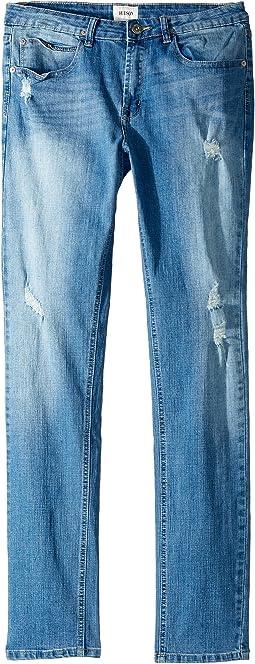 Jude OG Skinny Five-Pocket Jeans in Stone Wash (Big Kids)