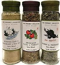 Roasted Garlic, Rosemary & Sea Salt; Oregano Basil & Tomato; Herbes de Provence Spice Blend Bundle