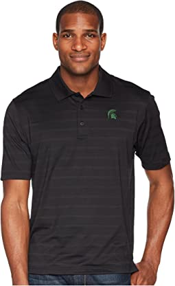 Michigan State Spartans Textured Solid Polo