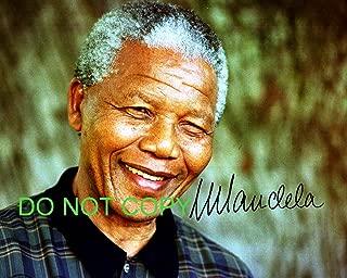Nelson Mandela reprint signed South African President photo #4 RP