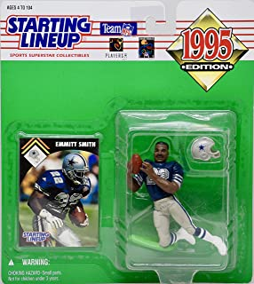 1995 Emmitt Smith Starting Lineup Dallas Cowboys