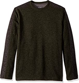 Van Heusen Men's Flex Sweater Fleece Long Sleeve Stretch Crew Neck Pullover