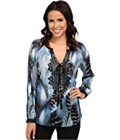 Hale Bob - Truth Or Flare Hand Beaded Blouse