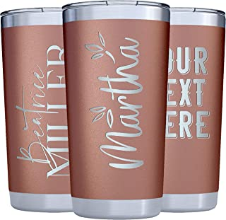 engraved cups