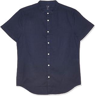 OVS قميص رجالي كاجوال طويل الأكمام من جاسبر