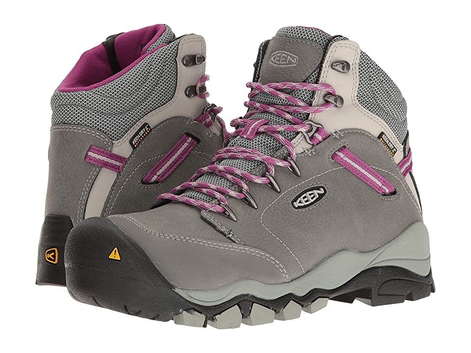 Keen Utility Canby AT Waterproof (Gargoyle/Vapor) Women's Work Pull-on Boots