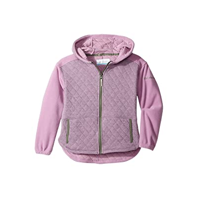 Columbia Kids Lena Lake Quilted Jacket (Little Kids/Big Kids) (Violet Haze Heather/Cypress) Girl