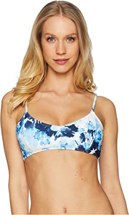 Paint Flower Bra Top
