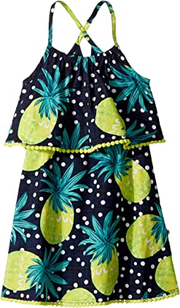 Pineapple Lee Dress (Toddler/Little Kids/Big Kids)