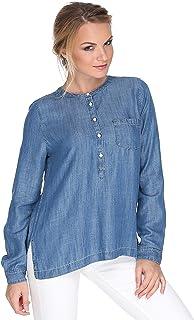 Levi's Rayon Shirt Neck Shirts For Women