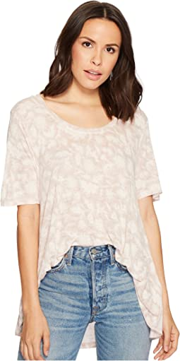 Lucky Brand - Floral Print Tee