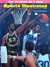 Wicks, Sidney & Gilmore, Artis 3/30/70 autographed magazine