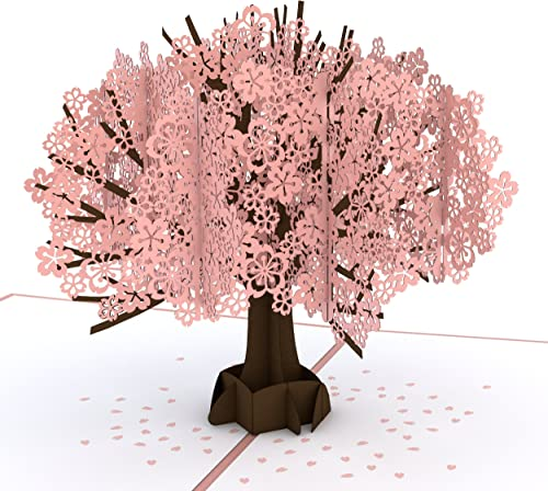 Lovepop Cherry Blossom Classic Pop Up Card - 3D Card, Mother's Day Card, Pop Up Mother's Day Call, Card for Wife, Car...