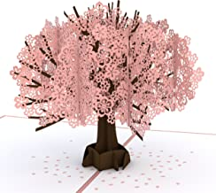Lovepop Cherry Blossom Pop Up Card - Greeting Card, 3D Cards, Anniversary Card, Card for Wife, 3D Cherry Blossom Card, Card for Mom, Pop Up Birthday Card