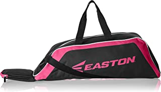 EASTON E100T Youth Bat & Equipment Tote Bag | Baseball Softball | 2020 | 2 Bat Compartment | Main Gear Compartment | Fence Hook | Shoulder & 2 Handle Straps