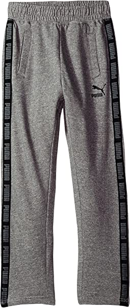 Puma Kids - Cotton Fleece Tapered Pants (Big Kids)