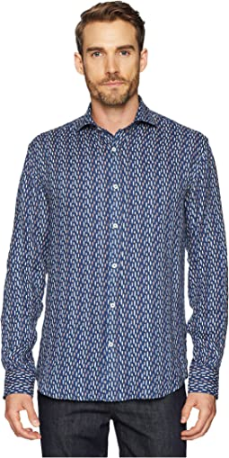 Surfboard Shaped Fit Woven Shirt