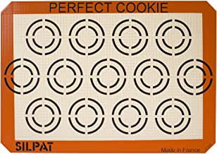 Silpat AE420295-12 Perfect Cookie Baking Sheet Orange