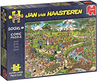 Jan van Haasteren The Park Jigsaw Puzzle (500 XXL Pieces)