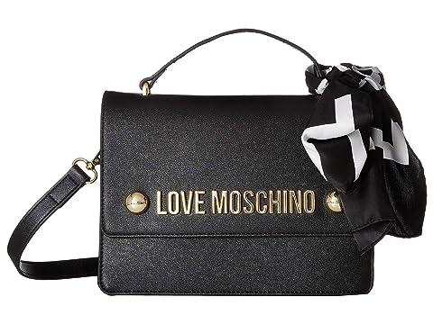 LOVE Moschino Crossbody Bag with Love Moschino Scarf
