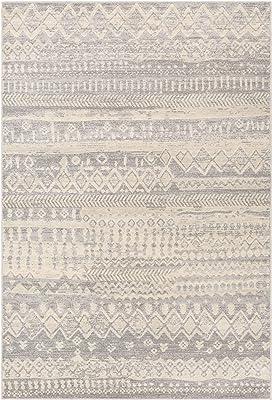 Artistic Weavers Azriel Bohemian Moroccan Area Rug, 2' x 3', Light Gray