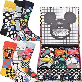 Happy Socks, Calcetines Disney x Pack-6 Caja Regalo