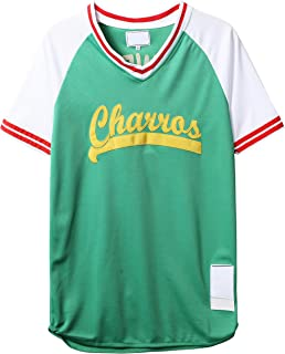 Mens Charros 55 Kenny Powers Eastbound and Down Mesh Baseball Costume Funny Jersey 77