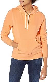 Amazon Essentials Women's French Terry Fleece Pullover Hoodie