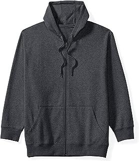 Men's Big & Tall Full-Zip Hooded Fleece Sweatshirt fit by DXL