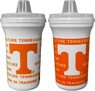 GameDay Novelty NCAA Tennessee Volunteers Sippy Cup Home & Away, 12 oz, 2 Pack