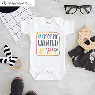 All Mommy Wanted Was A Backrub Onesie - Pregnancy Announcement Onesie - Funny Mommy Onesie
