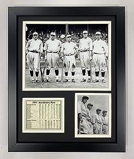 افسانه های هرگز درگذشت 1927 نیویورک Yankees ردیف قاتل عکس قاب عکس ، 11x14 اینچ