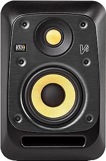 "KRK V4 Series 4 4"" 2-Way Powered Studio Reference Monitor, Black"