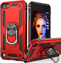 iPod Touch 7 Case, iPod Touch 6 Case with Car Mount,IDweel Hybrid Rugged Shockproof..