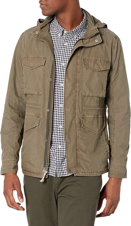 Lucky Brand Men's Long Sleeve Cotton Nylon M65 Utility Jacket