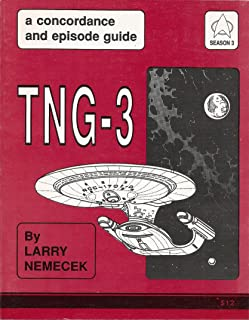 TNG-3 (A concordance and episode guide. A Guide to the third season of