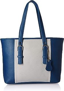 Fostelo Women's Downtown Girl Handbag (Blue::Grey)