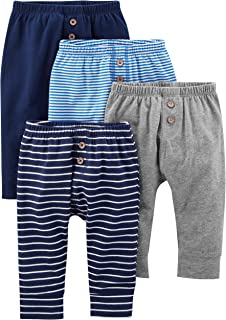 Simple Joys Carter's Baby Boys' 4-Pack Pant
